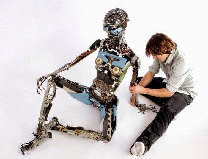 robot buatan Jeremy Mayer
