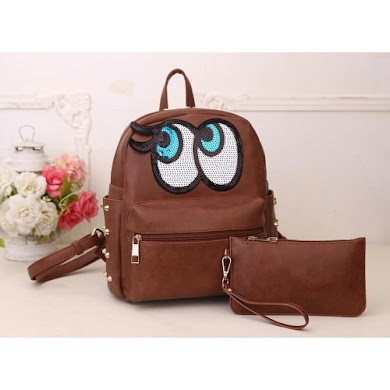 AAA PLAY NO MORE BACKPACK – BROWN