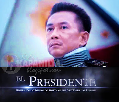 Gov. E.R. Ejercito in El Presidente: General Emilio Aguinaldo Story and the First Philippine Republic