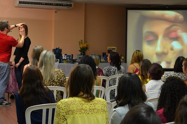 Somando Beleza, Neiva Marins, Workshop com o maquiador da Natura Marcos Costa