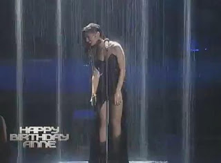 anne curtis wet look on ASAP 2013
