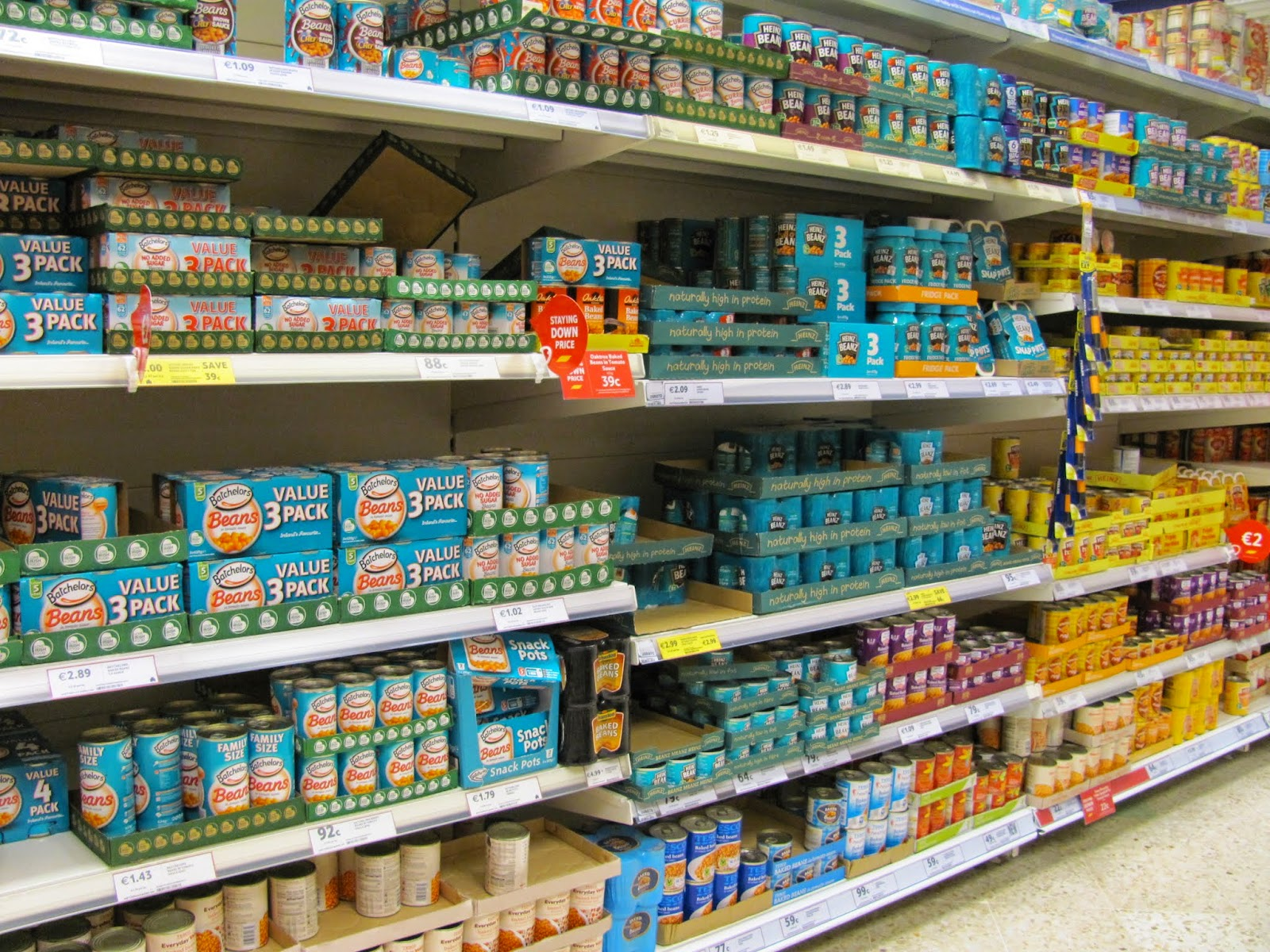 Canned Bean Selection