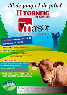 Torneig Masso Vedella al Pitch & putt Lleida