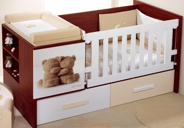 Dise os de cunas para beb s en madera imagui - Cuna de madera para bebe ...