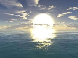 صورشروق الشمس وغروبها