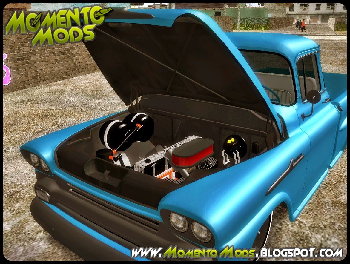 GTA SA - Chevrolet Apache Marta Rocha 1959 Lowrider