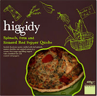 Higgedy Pies - Spinach, Feta and Roasted Red Pepper Quiche