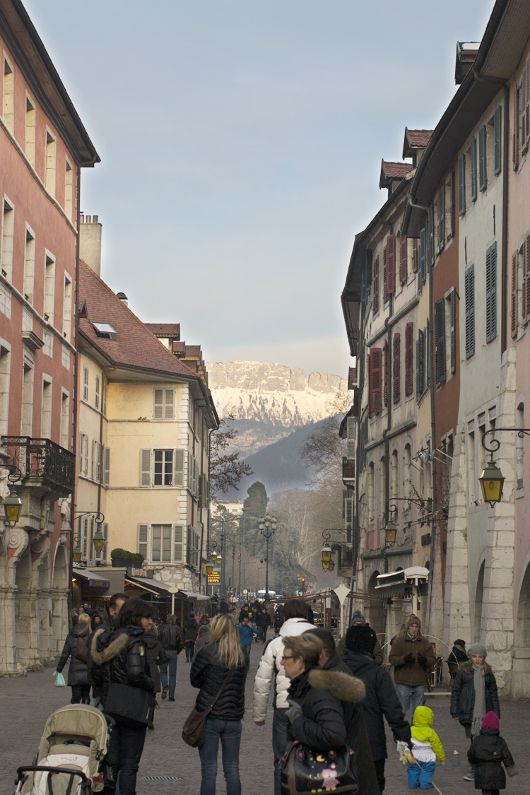 Annecy, calle sainte Claire