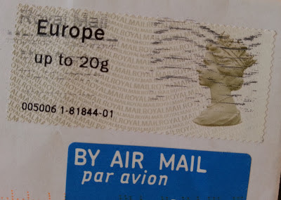 post & go Royal Mail Europe up to 20 g