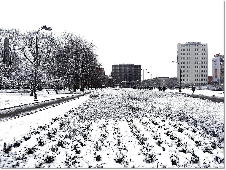 Warszawa w zimowej szacie