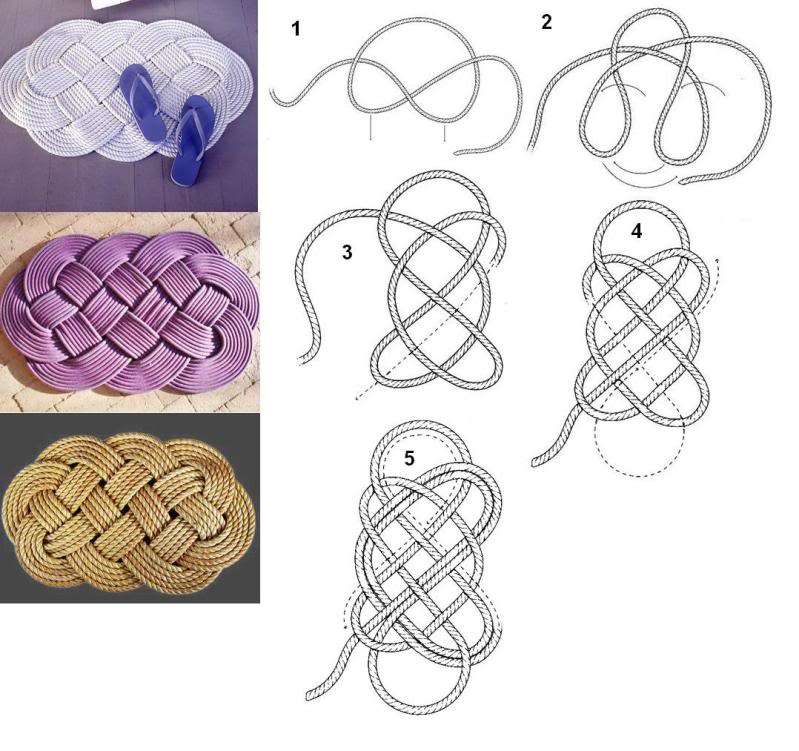 Плетение из пеньковой веревки своими руками 28