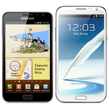 Samsung Galaxy Note 2 vs Galaxy Note