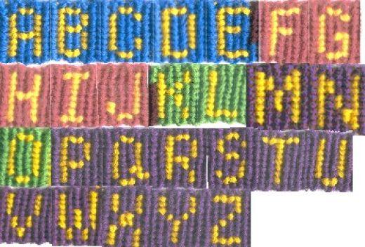 bracelet tool galleries friendship bracelet name patterns
