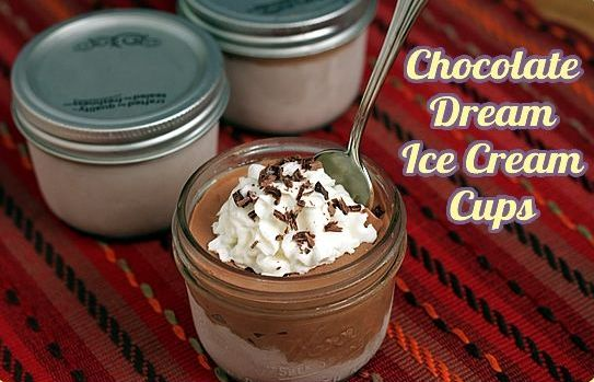 Chocolate Dream Ice Cream Cups