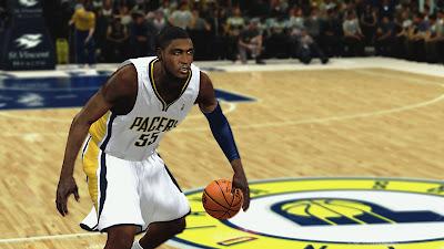 NBA 2K13 Roy Hibbert Cyberface 2K Patch