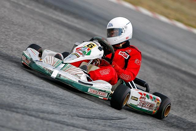 Karting yarışları İzmir deydi
