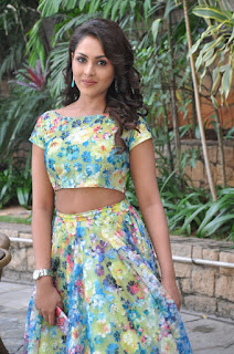 Madhu Shalni in a lovely Long Skirt and short Top Pool Side Picture shoot Stunning Beauty