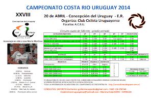 Costa del Rio Uruguay 2014