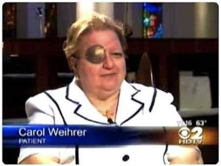 Carol Weiher Terbangun Saat Sedang Dioperasi