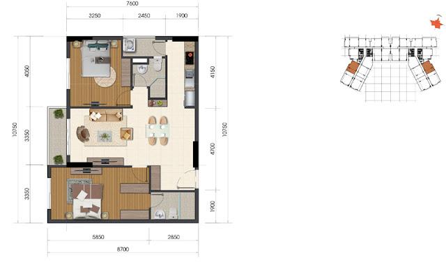 Dự án The Everrich Infinity Quận 5 căn hộ 5