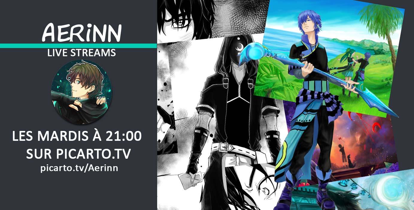 Aerinn en live sur Picarto.TV !