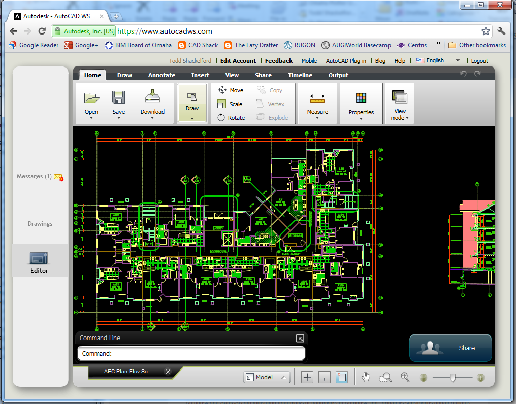 The Lazy Drafter Autocad Ws And Google Chrome