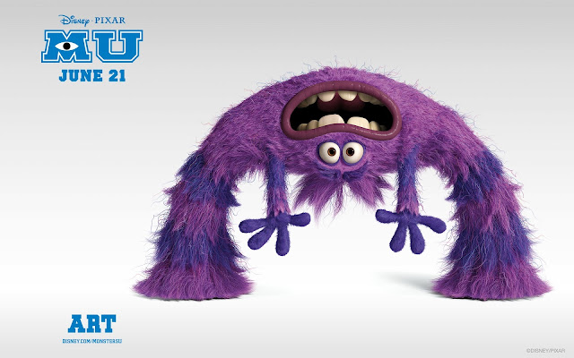 Art In Monsters University