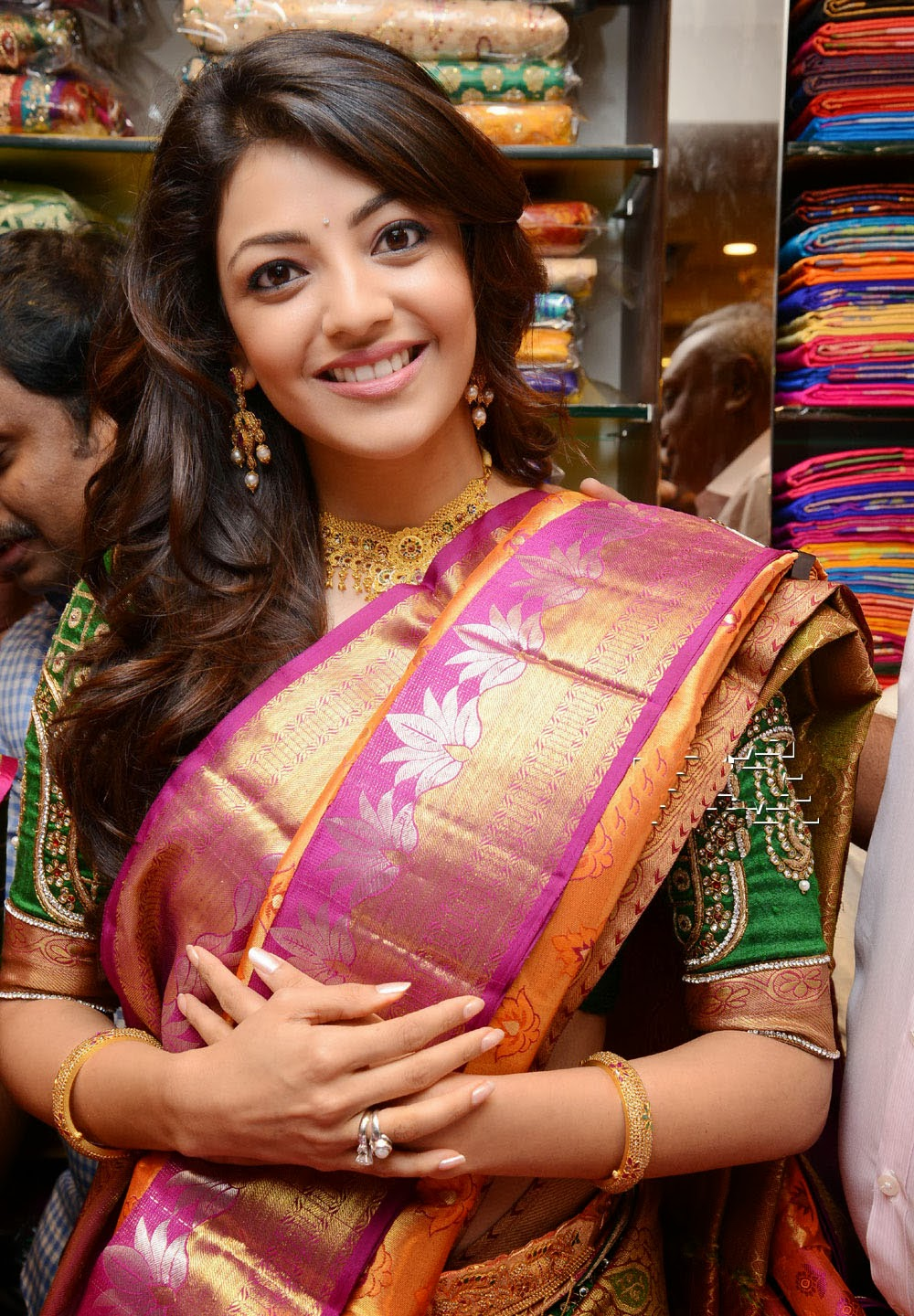 Kajal Agarwal beautiful pics, Kajal Agarwal at chennai shopping mall launch in hyderabad