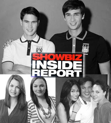 Celebrity siblings KC and Garrie Concepcion, Matet and Lotlot de leon and Phil and James Younghusband on Showbiz Inside Report this September 15