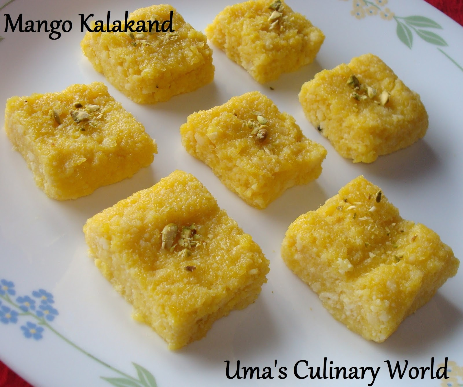 Mango Kalakand Indian Desserts Indian Dessert Recipes Desert Recipes