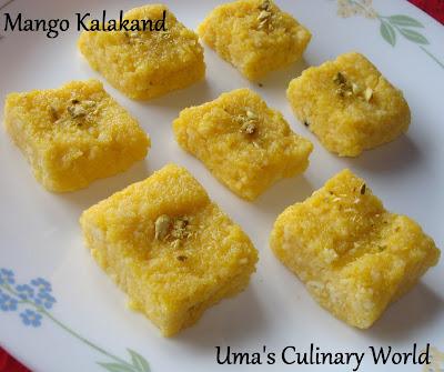 Mango Kalakand