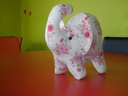 elefante tilda, feito por mim
