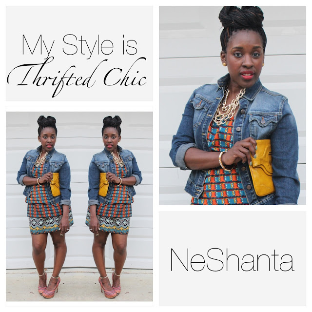 my style is thrifted chic neshanta of style is she. Black Bedroom Furniture Sets. Home Design Ideas