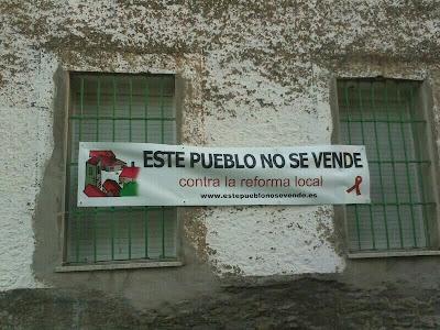 Fuenterroble, este pueblo no se vende, contra la reforma local