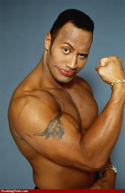 The Rock Large Wallpapers