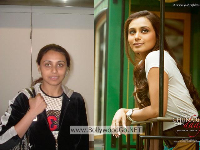 Rani Mukerji Real Life Pictures without Makeup