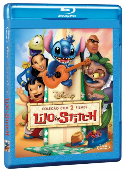 Lilo & Stitch Blu-ray Brasil