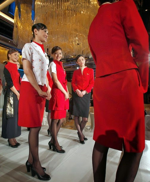 Cathay pacific new uniform announcement 2011 world for Korean air cabin crew requirements