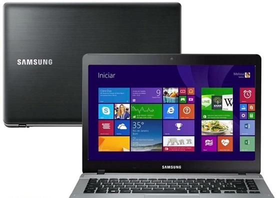 Com Windows 10 de fábrica, o notebook da Samsung está disponível em prata e preto