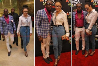 Nollywood Actor Jim Iyke & Actress Nadia Buari Confirm Dating Rumours?