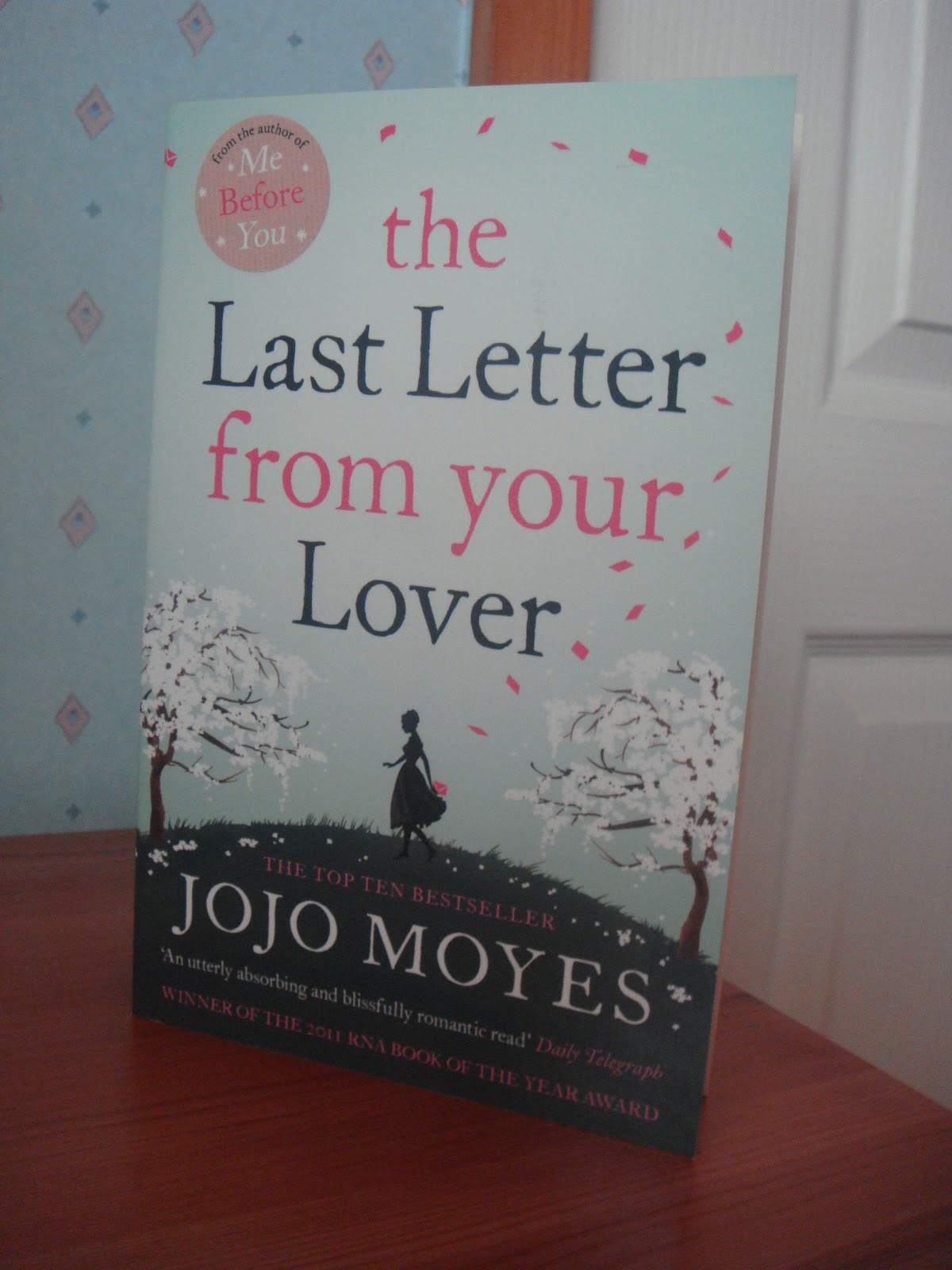 Jean Bull's Writing Blog: the Last Letter from your Lover by Jojo