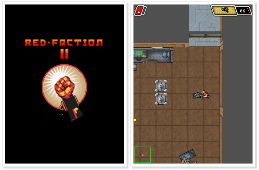 Nokia C3 Game : Red Faction 2