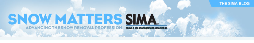SIMA - Snow Matters - Advancing the Snow Removal Profession