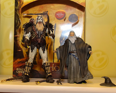 The Bridge Direct The Hobbit Toy Fair 2013 Display Pictures