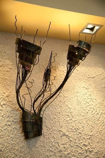 Ръчно изработени метални лампи 2