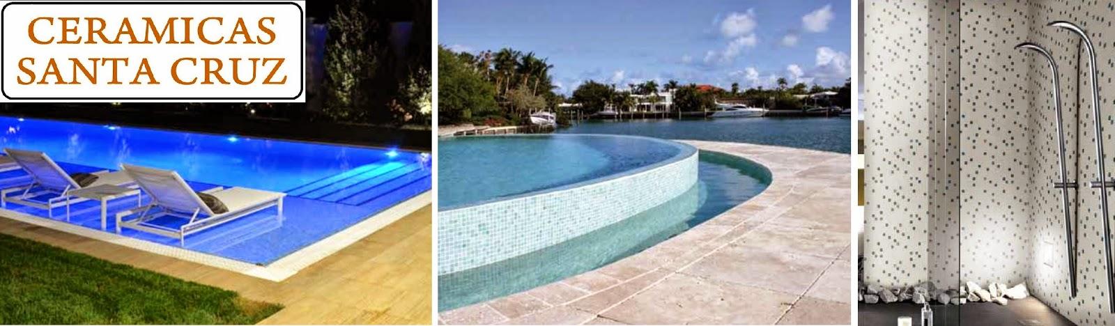 Ceramicas santa cruz gresite baldosas y azulejos para for Gresite para piscinas