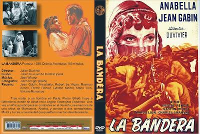 Cubierta del dvd: La bandera | 1935 | La grande relève