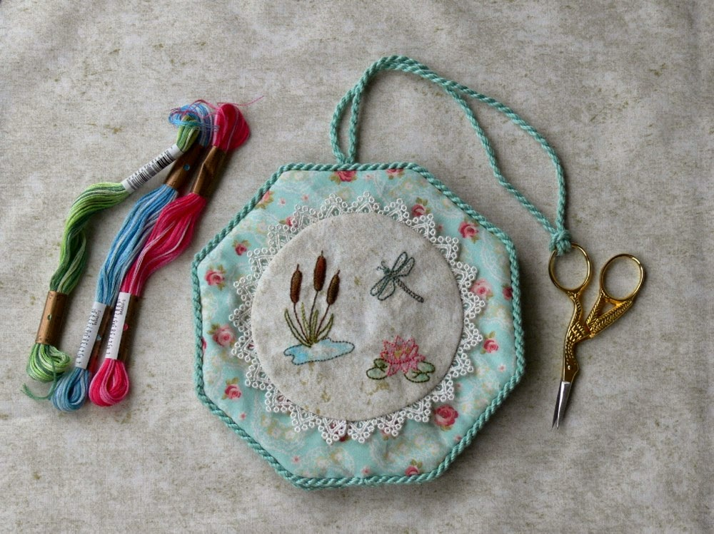 Pincushions and needle case patterns