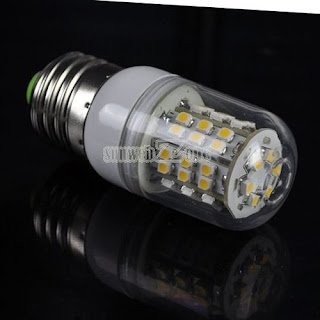 S0BZ Good 48 LED SMD Screw Warm White Corn Light Bulb 3W 3528 200V-240V E27