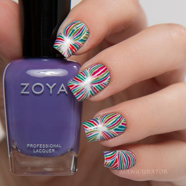 Zoya-Island-Fun-Summer-2015-Pueen-Flower-Nail-Art